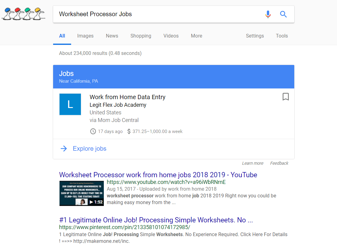 Worksheet Processor Jobs Scam Or Legit Way To Make Easy Money Online