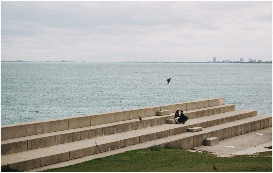 Joanna & Brandon Chicago Lakefront Proposal