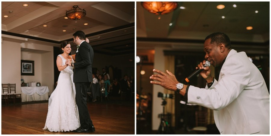 Kristina & Vincent Makray Memorial Golf Club Wedding