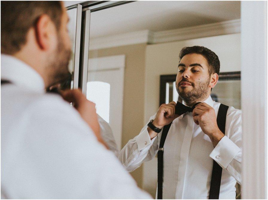 Chicago Wedding Groom Prep Getting Ready