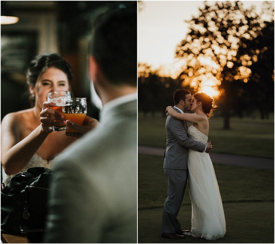 Chicago Illinois Wedding Photographer Sunset