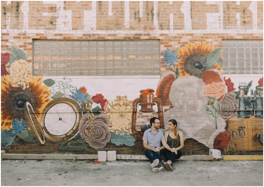 Logan Square Engagement Session Katie and Chris