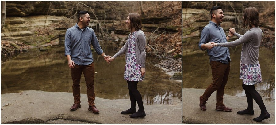 Matthiessen State Park Couple Session