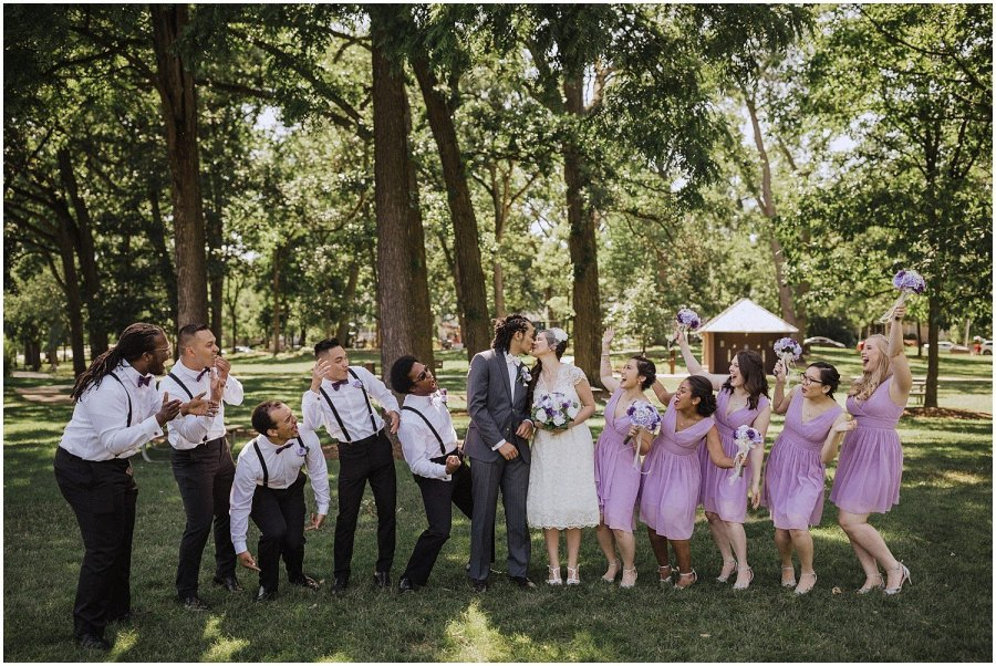 Chicago Summer Lake Ellyn Boathouse Wedding