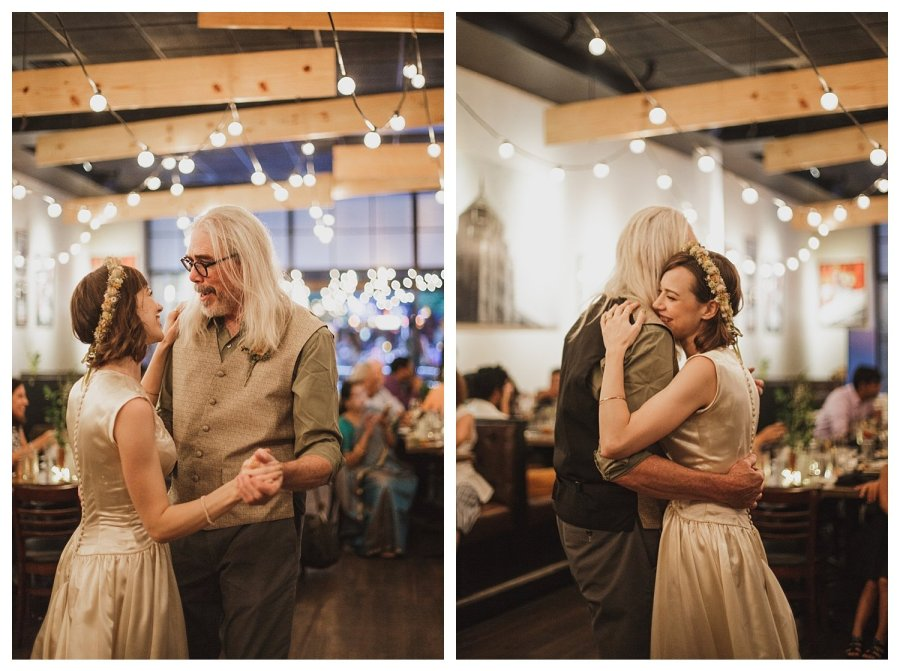 Champaign wedding dancing father daughter