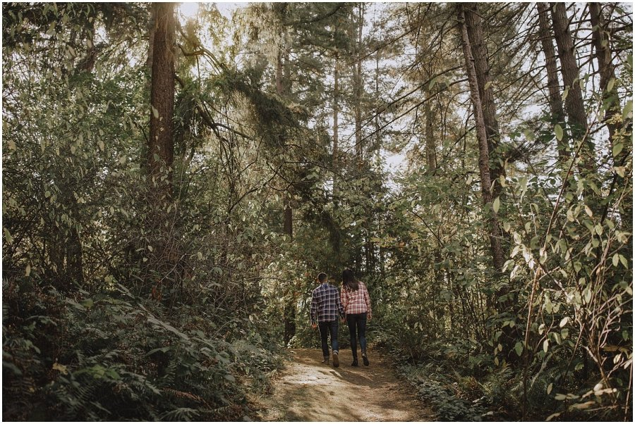 Seattle Washington Park Arboretum Engagement Session