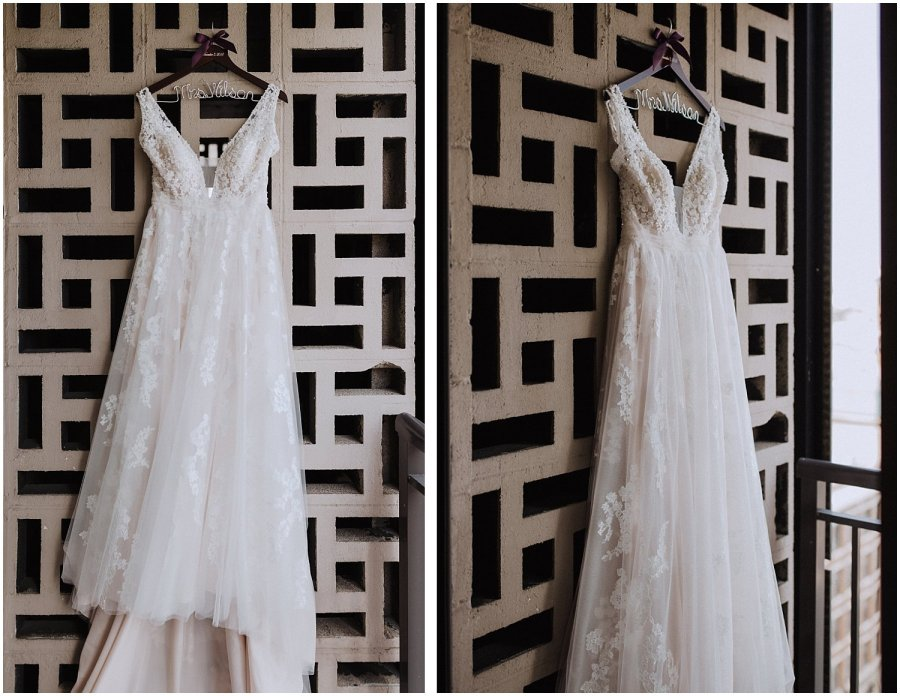 Chicago bottom lounge wedding dress