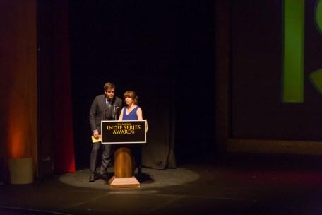 presenting at the ISA7 Awards