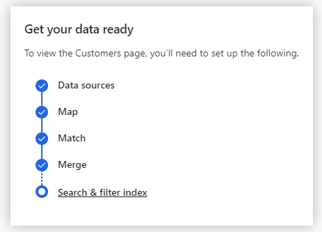 Customer Insights Search and Filter