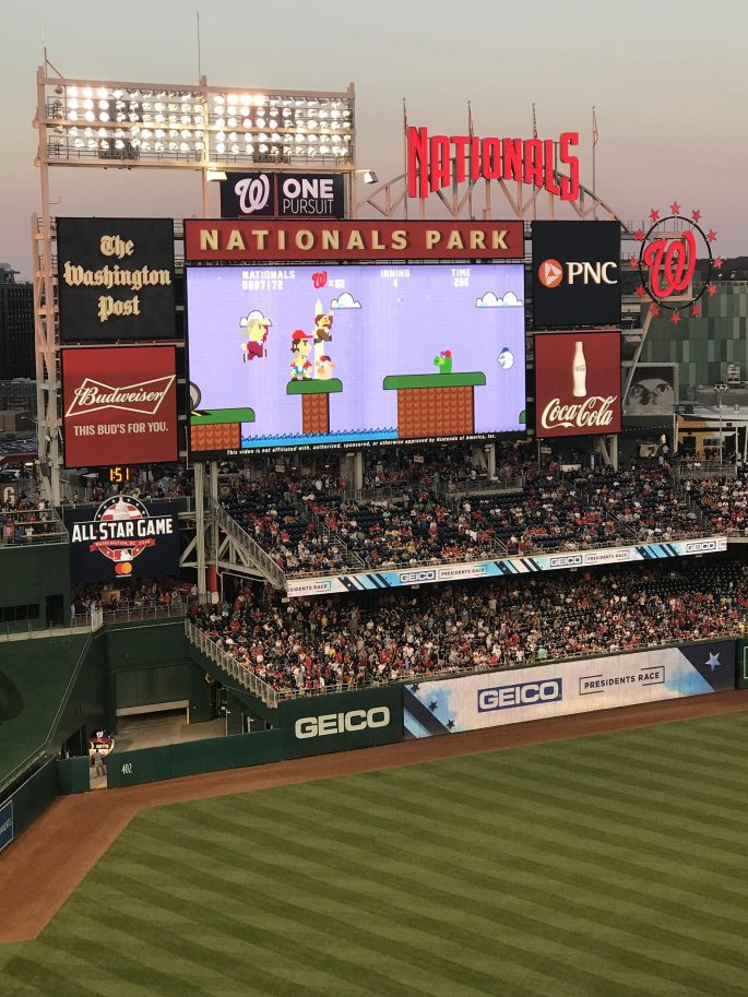 Nationals Park Presidents Virtual Race