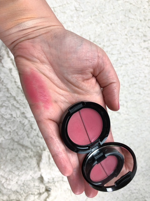 Blush Duo (in shade Fig It): I must admit, I've never been much of a fan of cream blush. It's must harder for me to blend in, and this formula is EXTREMELY pigmented. I would go easy on it and build up to get the amount that you want. Luckily this product has a cream AND a powder side, so you can't lose! The powder is equally as pigmented. I used a blush brush to lightly dip in it and then build up the pigment on the apples of my cheeks. Such a stunning color that you can really blend to be quite natural looking or very dramatic – so versatile! This duo is made with kale, pomegranate, papaya and more. It's fragrance free also, which I can truly appreciate.