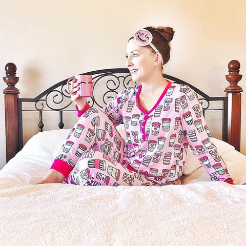What better gift could there be than giving someone comfort? I am LIVING in these pjs from Sleepyheads. They are very lightweight, super stretchy, flattering, and super cute! Check out the coffee to-go cup print! Is it not adorbs? There are so many other cute and trendy patterns, too. Check these out along with some of their other cute styles and use code SAVE15OFF at checkout for 15% off your entire order!