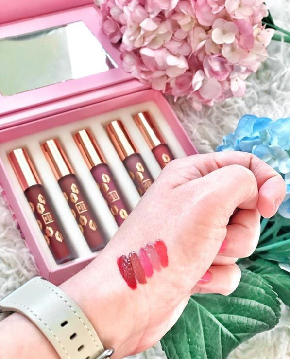 The Beauty Crop Girl Gang Matte Liquid Lipstick Set