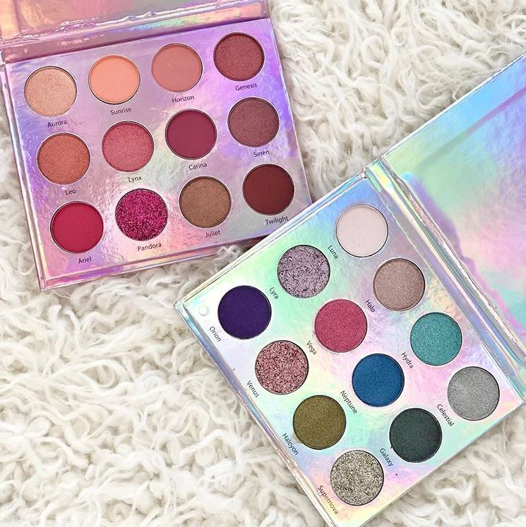 The Beauty Crop Eyeshadow Palettes