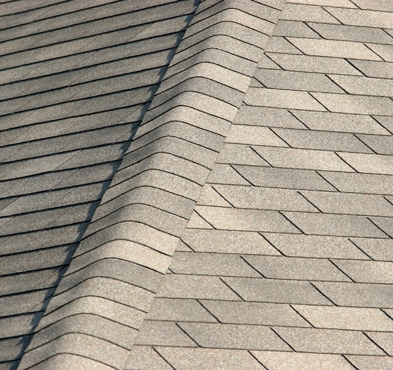 Clean shingle roof
