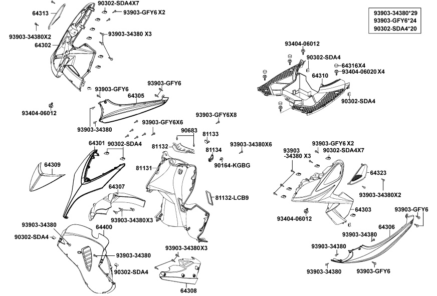 Kymco Scooter Parts Online