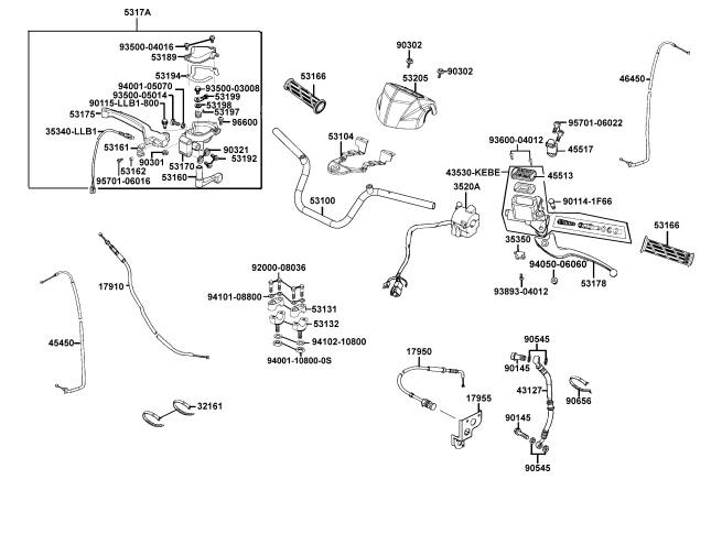 Kymco Mxu 150 Parts