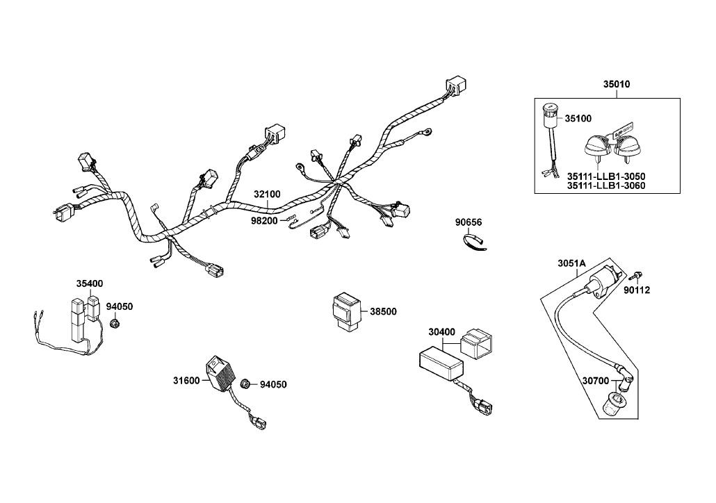 Sunny Scooter Wiring Diagram - Wiring Schematics on