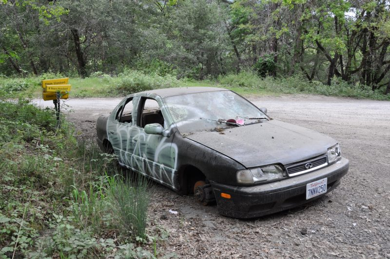Abandoned Cars Of The Emerald Triangle  Redheaded Blackbelt