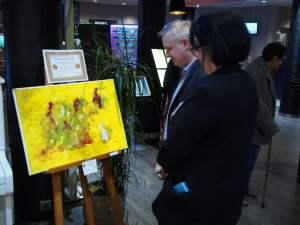 Art figuratif et art abstrait, Kyna de Schouël artiste peintre