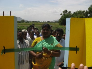 Inauguration, Completed toilets, Kynarou