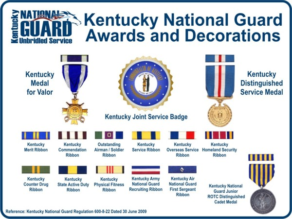 Army national guard awards and decorations for Army emergency reserve decoration