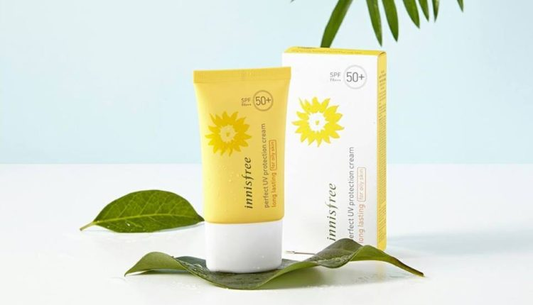 Kem chống nắng cho da dầu Innisfree Perfect Uv Protection Cream Long Lasting For Oily Skin Spf 50+ Pa+++