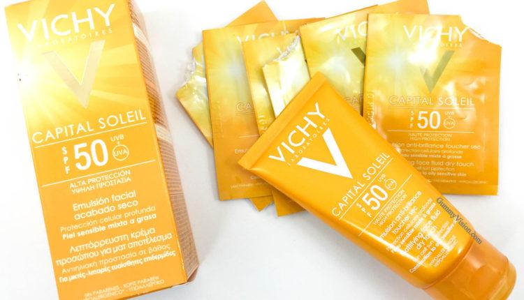 Kem chống nắng cho da dầu Vichy Capital Soleil SPF 50+ PA ++