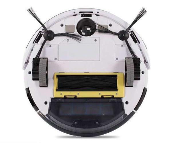 Cấu tạo mặt dưới của Robot Ecovacs Deebot DJ35