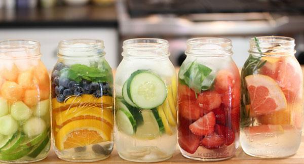 12 cách làm nước Detox Đẹp Da thải độc tăng cường sức khỏe