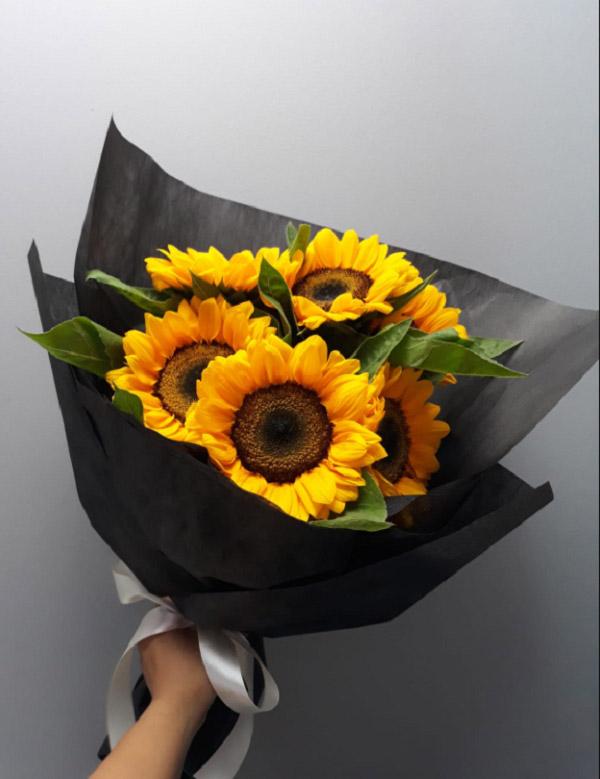 Hình ảnh bó hoa hướng dương đẹp 5