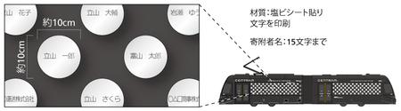 03車両ラッピングのデザインイメージ