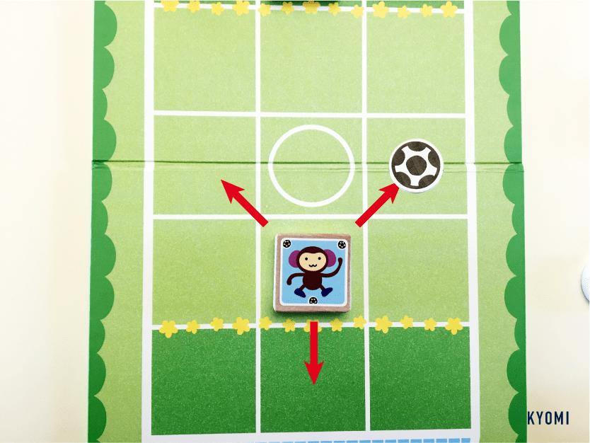どうぶつサッカー-写真-さる