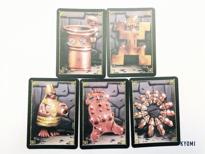 インカの黄金-写真-遺跡カード