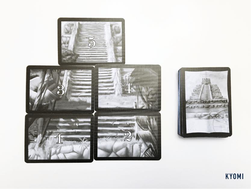 インカの黄金-写真-神殿カード