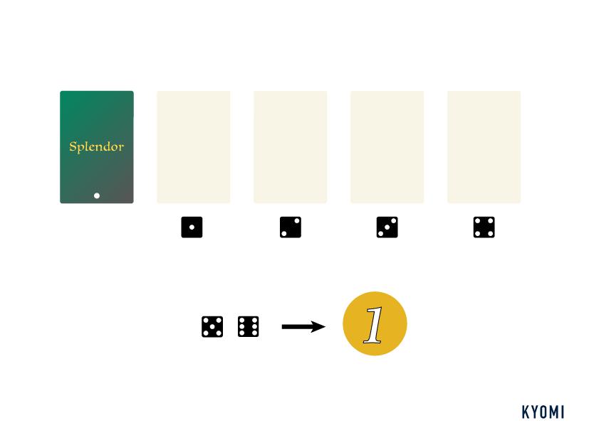 宝石のきらめき-1人用ルール-図-ダミプレイヤーのアクション2