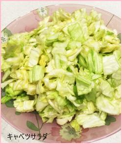 kyabetu-sarada キャベツレシピ 子供に人気のサラダを紹介