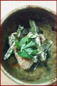otyaduke0428-1 居酒屋風お茶漬け レシピ 簡単本格的な作り方