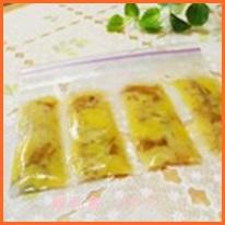 banana513-1-1 離乳食 初期からのバナナメニューと冷凍保存の仕方