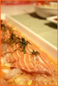samon529-1-214x300 サーモンのカルパッチョ つくれぽの多いレシピ