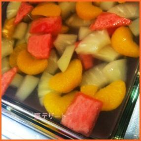 natu601-1 夏のデザートレシピ 簡単冷たい果物のお菓子の作り方