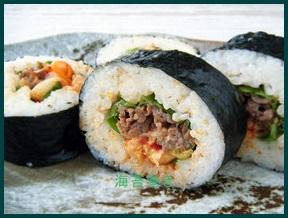 norimaki94-1-227x300 海苔巻きレシピ 人気の簡単!美味しいお肉の入った具