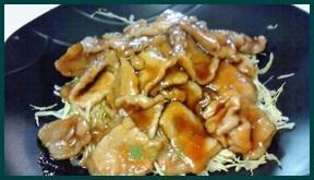 1017-11 薄切りロース豚肉レシピ お弁当のおかずにも