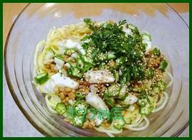 oku1 オクラ納豆! 人気のパスタレシピを紹介します。