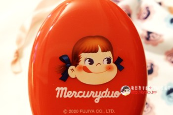 不二家牛奶妹 PEKO X MERCURYDUO 聯名迷你梳與束口袋 ・美人百花雜誌3月號附錄 (雜貨小物系列26)