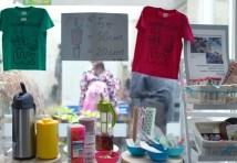 Yukinohana、福島の子ども達の声をオランダの子ども達に届ける会による麦茶や小物販売