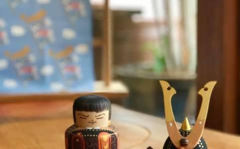 大社 吉や 武者人形