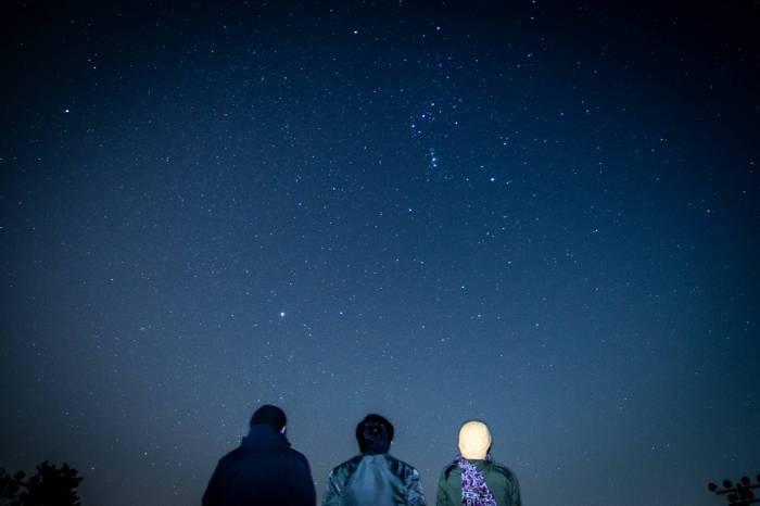 隠岐の夜空