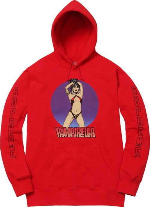 Supreme x Vampirella Hoodie 画像