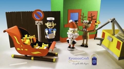 Babbo Natale è arrivato in città ! ... ed è stato multato !